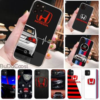 HONDA Sports car Type R JDM DIY Phone Case for iPhone 8 7 6 6S Plus X 5S SE 2020 XR 11 pro XS MAX 12 12Mini image