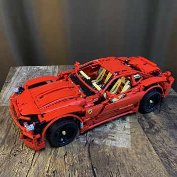 Expert Creator Ideas Technic Series City Super Racing Car Building Blocks Bricks Moc Model Modular Kits Sets Christmas Gifts image