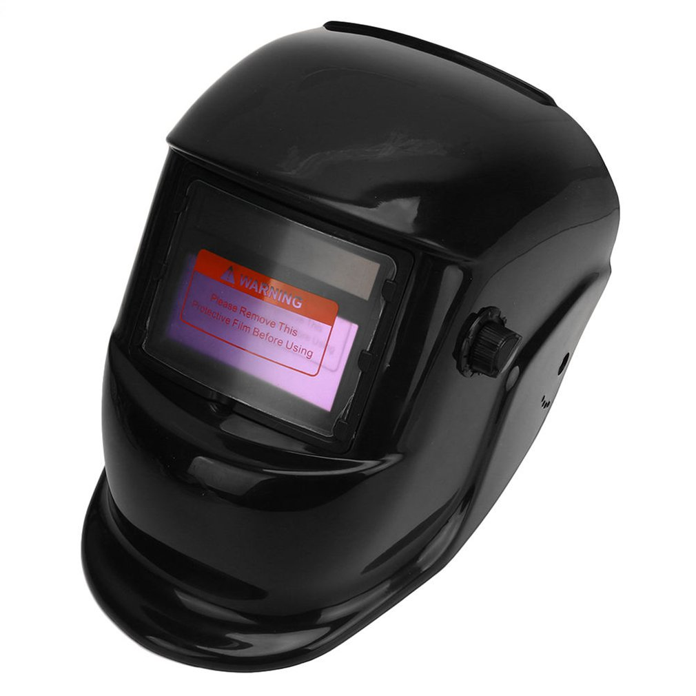 Высокое качество Солнечная Авто Затемнение электрическая сварочная защитная маска шлем регулируемый диапазон объектива для сварщика пайк...