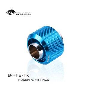 "Image 5 - Bykski B FT3 TK、3/8 ""id * 5/8"" od 10 × 16ミリメートル軟質チューブ継手、g1/4 ""継手ソフトチューブ"