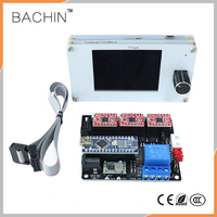 CNC GRBL Offline Controller+USB 3axis Control Board cnc Laser Driver Laser Cutter Engraving Machine Parts TFT LCD Control Panel