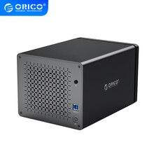 ORICO 5 Bay 3.5 ''USB3.0 stacja dokująca HDD wsparcie 80TB 5gbps MagneticHDD Case z 78W zasilacz Alumium obudowa dysku twardego