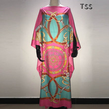 Beautiful Dresses For Women Dashiki Snake Pink Clothes Bazin Broder Riche Sexy Sexy