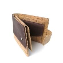 Rustic Men Cork Wallet Bifold Eco Friendly Cork Card Wallet