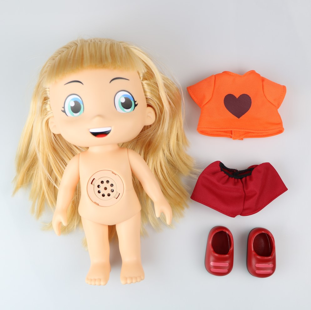 25cm Luccas Neto Doll Talking Toys Action Figure Collection Model Gift for Kids