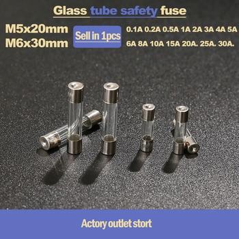 10 glass fuse fast 250v 5x20mm 5 x 20 mm 0.2a 0.5a 1a 2a 3a 4a 5a 10a