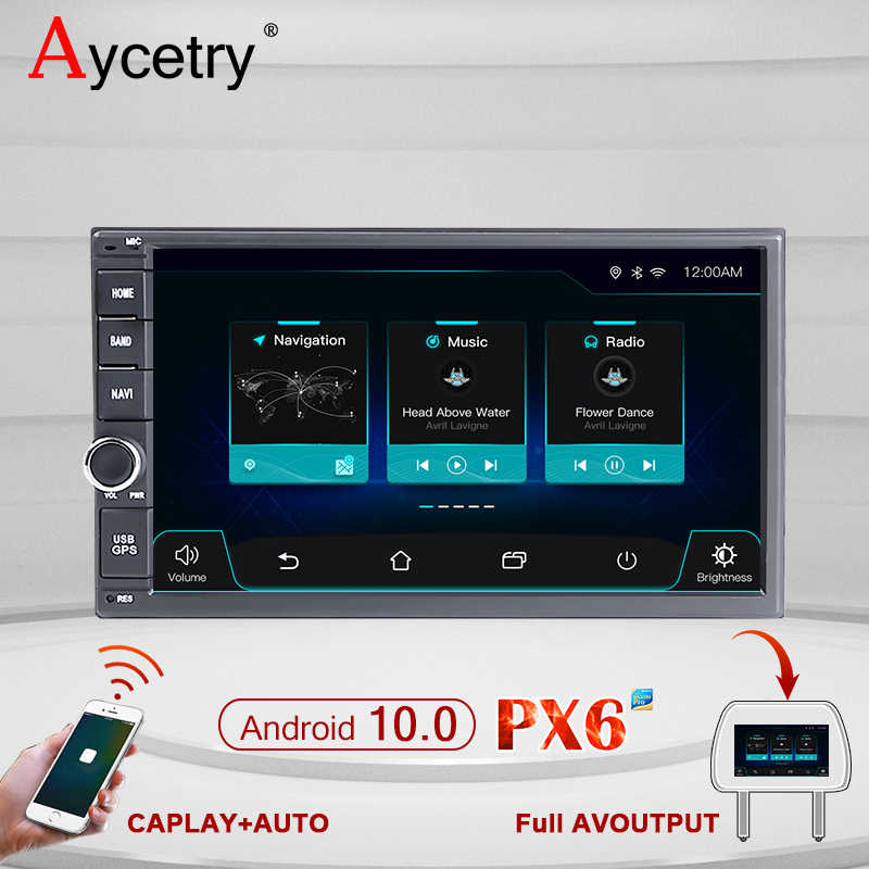 IPS DSP 64G MOBIL RADIO 2 din Android 10 auto audio auto RADIO Multimedia Player Video dvd GPS Navigasi Kepala unit 2din Mobil Stereo