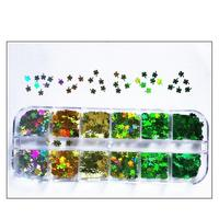 Four Leaf Clover Lucky Grass Nail Stickers Nail Art Sequins Beautiful And The Environment Nail Stick Easy To Apply On Na