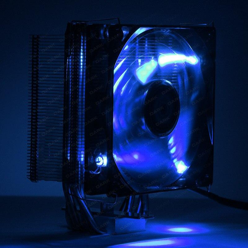 Dark Freezer X120 Intel 775/1155/1156/1150/1151/1366/2011/2011-v3/2066 - AMD AM2/AM2 +/AM3/AM3 +/AM4 Compatible processor Cooler 5