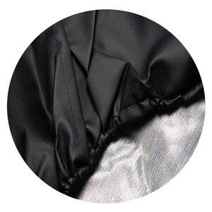 """Image 4 - Funda de cuero de PVC de 14 """", 15"""", 16 """"y 17"""" para Mitsubishi, Pajero, Ford, Ecosport, Skoda, Yeti"""