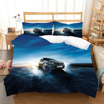 Racing Car Bed Linen Set Extreme Sports Boys Microfiber Soft Duvet Cover Set 2/3 Piece Custom Bedding Set Full Queen for Teens 1