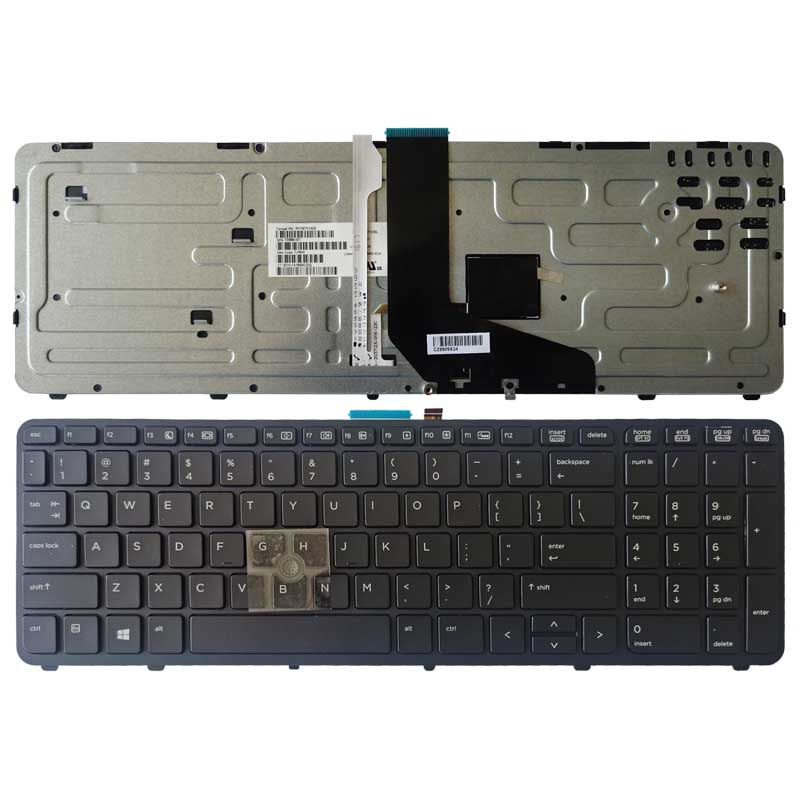 NEW US Laptop Keyboard FOR HP For ZBOOK 15 17 G1 G2 PK130TK1A00 With Backlight/Pointer 733588-001