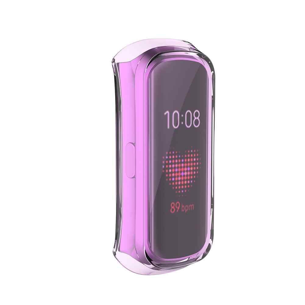 360 תואר TPU מגן מקרה עבור Samsung Galaxy Fit-e R375 חכם צמיד מגן שעון מקרה כיסוי אבזרים