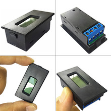 цена на 18650 battery Lithium Li-ion tester Capacity Current Voltage Detector LCD meter Drop ShipDrop ship