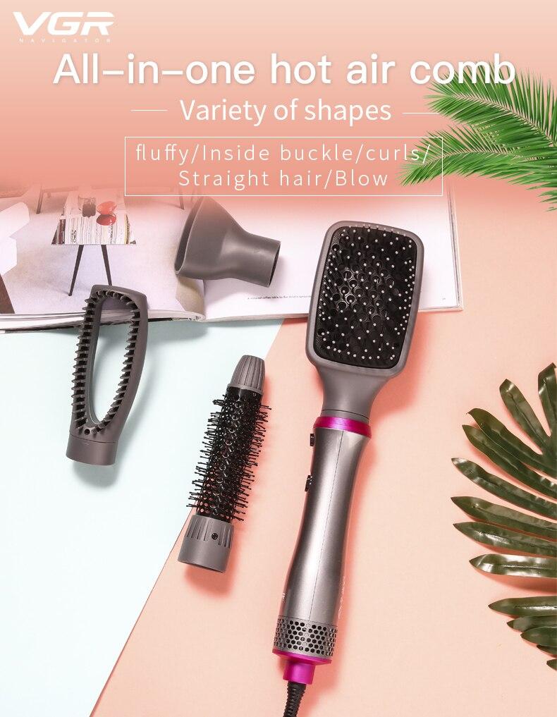Um passo secadores de cabelo e ventilador