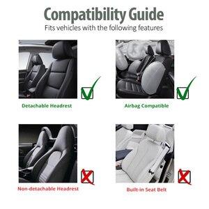 Image 5 - AUTOYOUTH מותג 2PCS רכב מושב מכסה 5MM קצף כרית אוויר תואם אוניברסלי Fit ביותר טנדרים מיניבוס מופרד רכב מושב
