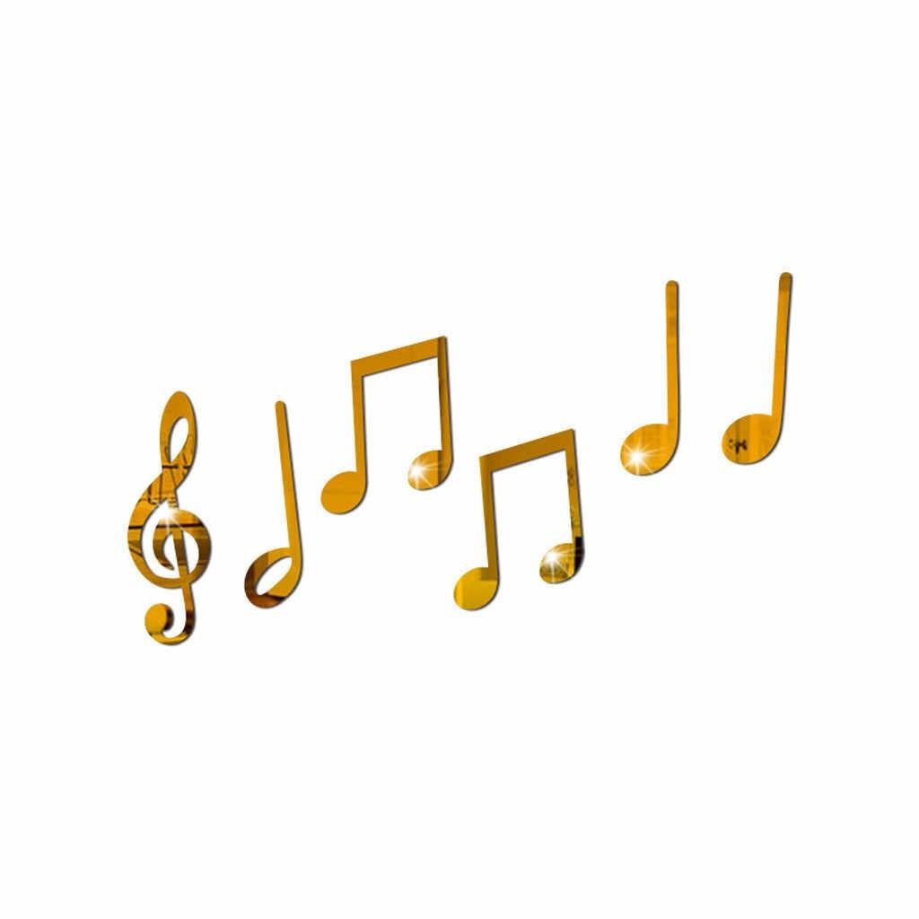 Рождественский Съемный Виниловый художественный музыкальный блокнот Настенная Наклейка стена домашний декор настенные наклейки своими руками для детской комнаты спальни настенная роспись