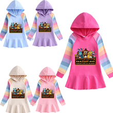 Hoodie Baby Sweatshirt Five-Nights Girl Clothes Toddler Bear for Dress Kid Freddy Autumn