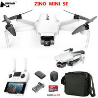 Hubsan ZINO MINI SE RC Drone 249g GPS 5G WiFi 6KM FPV con telecamera 4K 30FPS 3 assi Gimbal 3D ostacolo rilevamento 45 minuti tempo di volo