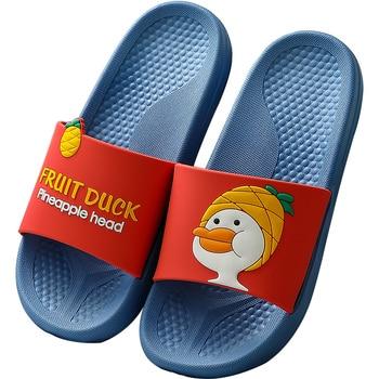 Cartoon Slides Women Summer Slippers Cute Duck Soft Sole Home Slippers Indoor & Outdoor Ladies Sandals Women bath Flip Flops
