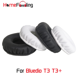 Homefeeling Ear Pads for Bluedio T3 T3+ Plus Headphones Super Soft Velour Sheepskin Leather Ear Cushions Replacement