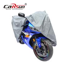 M rozmiar motocyklowe pokrowce na zewnątrz anty-uv motocykl odporny na kurz rower z napędem skuter Protector pokrycie osłona przeciwdeszczowa dla wszystkich Moto tanie tanio CARSUN 220cm PEVA 120cm
