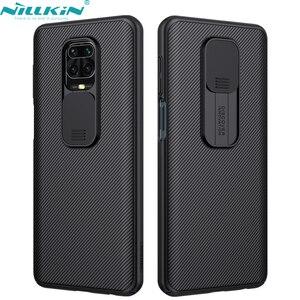 Image 2 - NILLKIN Dành Cho RedMi Note 9S 9T Note 9 10 Pro Max XiaoMi Poco X3 NFC M3 10X 4G 10 Lite Ốp Lưng, bảo Vệ Camera Trượt Bảo Vệ Da