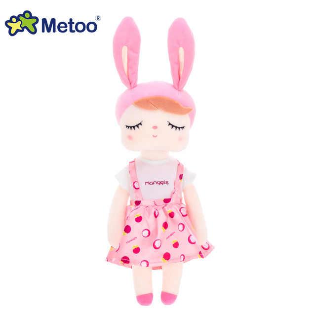 أحدث Metoo دمية لينة أفخم حالمة لعب للبنات طفل لطيف الكرتون الأرنب للأطفال عيد الميلاد هدية عيد ميلاد