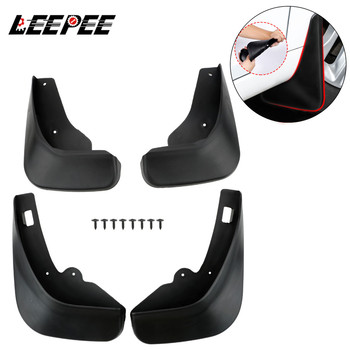 Splash Guards Fender For Ford/Focus 2 MK2 MK2.5 Saloon Sedan 2005-2011 4PCS Car Accessories Car Mud Flaps Front Rear Mudguard image