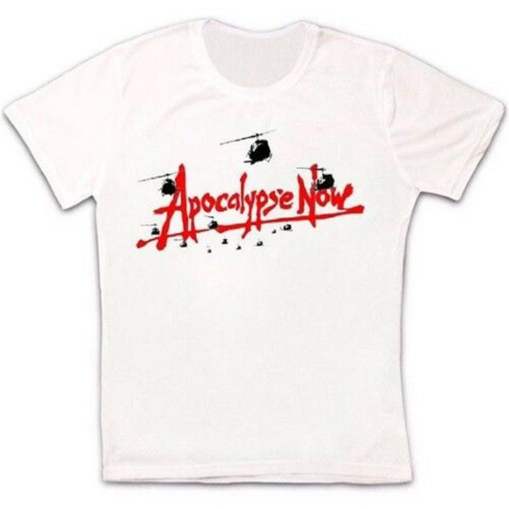 Apocalypse Now 79 Wietnam Epic War Film Retro Cult Hipster Unisex T Shirt 1222 Brand Clothing Tee Shirt image