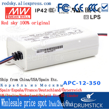 цена на patriotic MEAN WELL APC-12-350 36V 350mA meanwell APC-12 12.6W Single Output LED Switching Power Supply