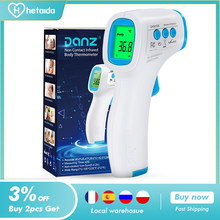 HeTaiDa Infrared Thermometer Digital Front Non-Contact Thermometer Baby Adults Body Accurate Measurement Electronic Thermometer