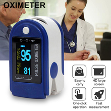 Portable new Finger Pulse Oximeter Medical Finger Tip Oximeter Blood Oxygen Saturation Monitor with Health Care Dropshipping