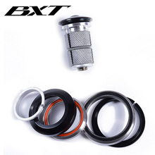 """Bike headset 1 1/8"""" 1 1/2"""" for frame headset tapered MTB or road bicycle headset top cap bicycle Accessories free shipping"""