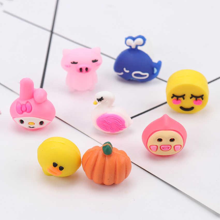 5PCS Pack Mini Mehrere Arten Bleistift Abdeckung Kawaii Kind Lernen Schreibwaren Geschenk Bleistift Kappe Hut