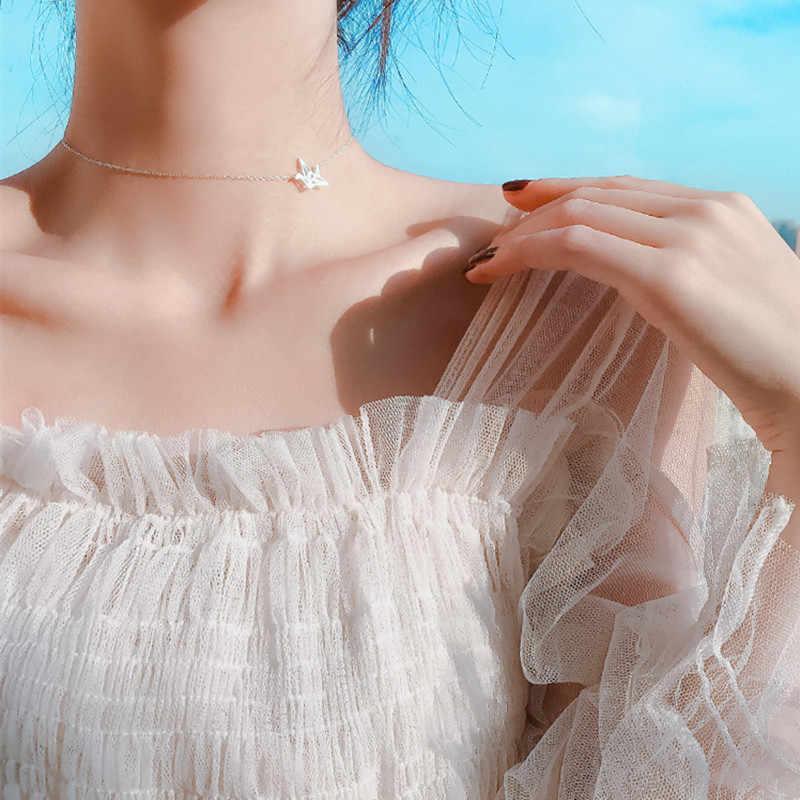 2019 nowy drążą Dove Chain naszyjniki kobiety Holiday Beach komunikat biżuteria hurtowych