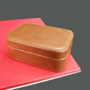 Image 4 - TINHiFi Case High end Magnetic Portable PU Storage Case Earphones Cable Headphone Box Headset Bag For TIN Earphones  Tin T4 T2