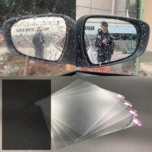 Авто-Стайлинг авто Анти-туман непромокаемые зеркало заднего вида, окно прозрачная защитная пленка для экрана автомобиль ясно Зеркало заднего вида наклейки