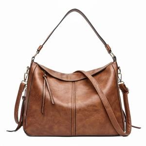 Image 1 - 럭셔리 가방 핸드백 여성 유명 브랜드 2021 유럽과 미국 여성용 메신저 가방 Hobos 디자이너 핸드백 Lady sac bolsa