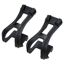 MTB Road Bike Fixed Gear Cycling Bicycle Strapless Toe Clips(China)
