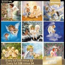 Zooya Алмазная вышивка 3d diy алмазная живопись девушка Ангел
