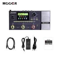MOOER GE200 Amp Modellierung & Multi Effekte Pedal 55 Verstärker Modelle 26 Lautsprecher Cab Modelle 70 Effekte 52s Looper 40 trommel Muster