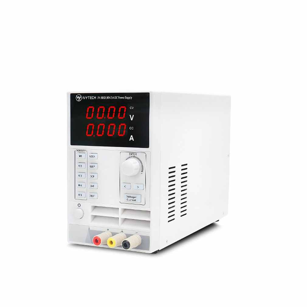 Регулируемый источник питания постоянного тока, Регулируемый импульсный источник питания, IV305D DC источник питания, OVP OCP OHP