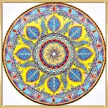 HeeBenor Factory Store 5D DIY Diamond Painting Mandala Diamond Embroidery Round Shinny Beads Picture Of Rhinestone Painting