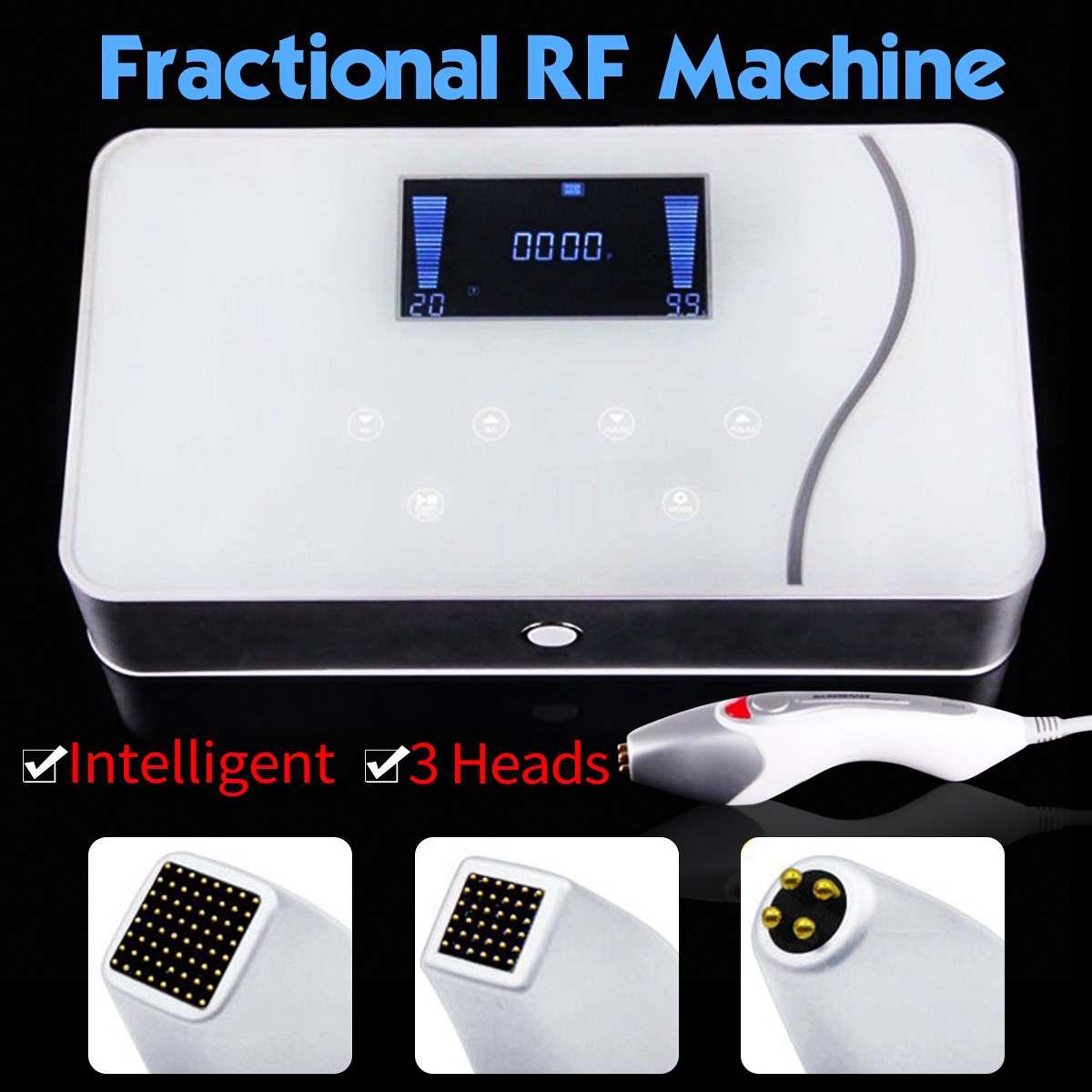 100-220V Intelligent Fractional RF Machine Face Lift Skin Tightening Wrinkle Removal Dot Matrixs RF Beauty Device Machine