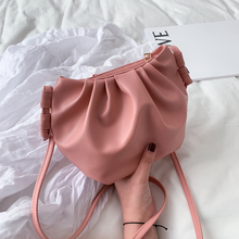Bags for Women 2020 Evening Clutch Bags Crossbody Bags for Women Messenger Bags PU Leather Hobos Casual Solid Girl Shoulder Bag