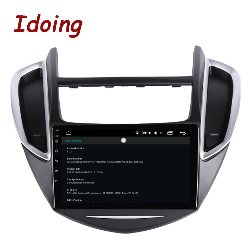 """Image 4 - Idoing 9""""2.5D IPS Car Android Radio Multimedia Player For CHEVROLET TRAX 2014 2016 4G+64G Octa Core GPS Navigation no 2 dinCar Multimedia Player   -"""