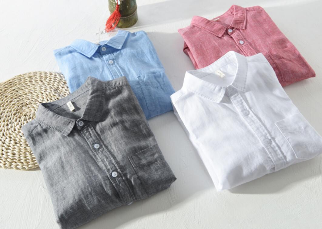 2020 NEW Plus Velvet Thick Casual Sleeved Shirt Em8 Autumn And Winter Men's Shirt Ay401-1-22