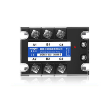 Solid state relay MGR-3 032 38200Z SSR-200DA 200A 380VAC 3~32VDC DC-AC Three phase solid state relay meigeer 100a ssr 100da three phase solid state relay jgx 032 mgr 3 032 38100z