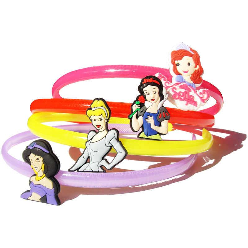 4 pièces/lot princesse bébé filles bandeau enfants chapeaux enfants cheveux accessoires enfants Barrettes cadeaux de fête